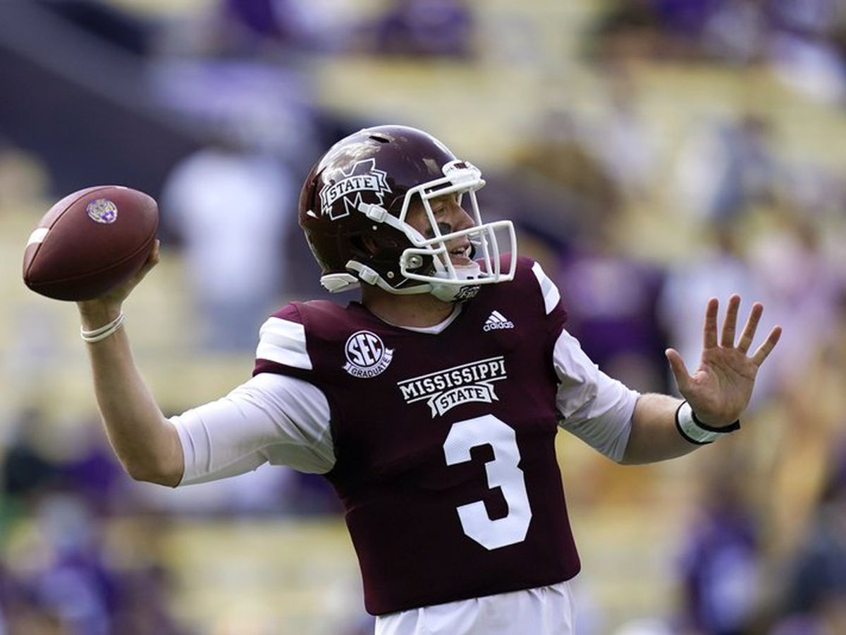 Costello's 623 yards lead Miss. St. past No. 6 LSU, 44-34