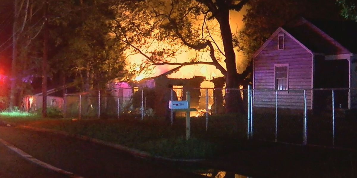 'Hillside Dr. is always on fire.' Vacant south Jackson home engulfed in flames overnight