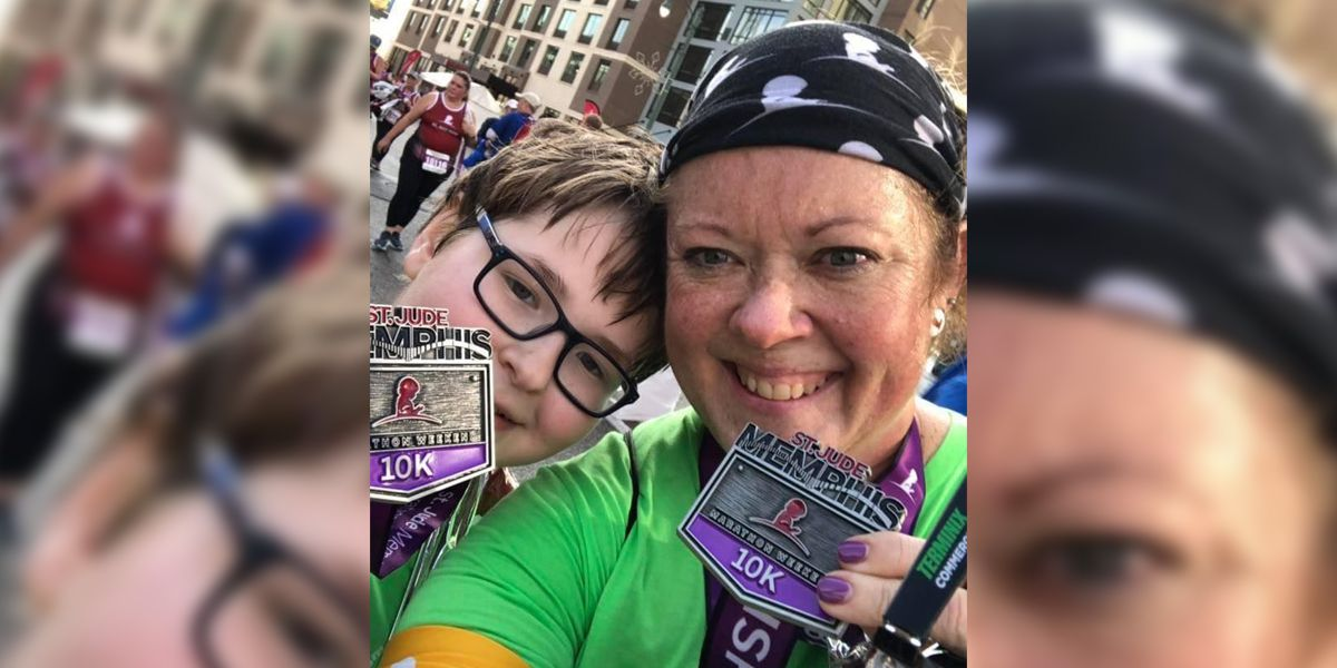 St. Jude treats Memphis boy who is now thriving, running marathons