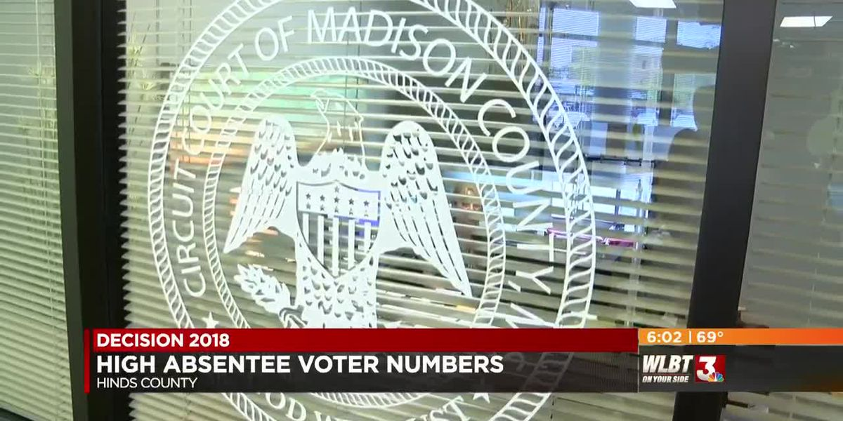 Absentee voting up for Mississippi mid-terms