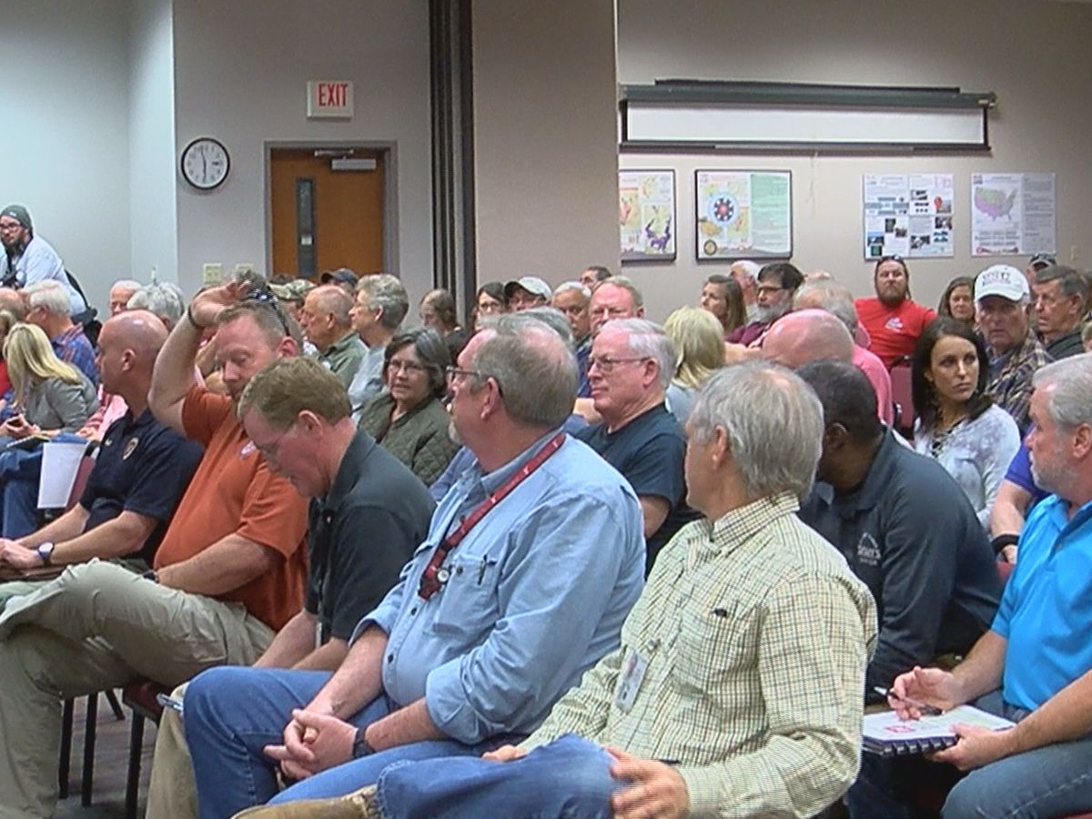 Public meeting held for flooding victims in Eagle Lake Community