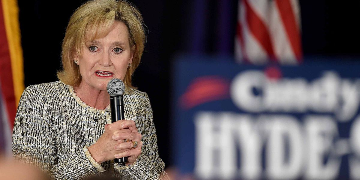 Major League Baseball asks Hyde-Smith to return donation