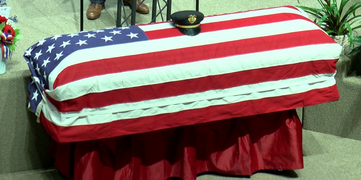 Family, friends say goodbye to DeSoto Co. deputy who drowned after saving son while on vacation