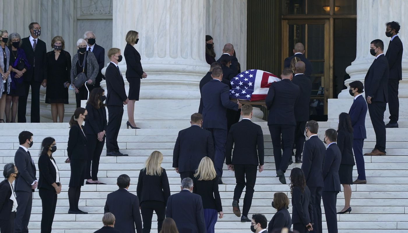 Ginsburg remembered as prophet for justice, American icon