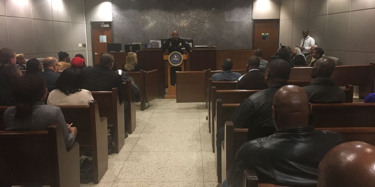 Jackson Police Chief holds vigil for the city