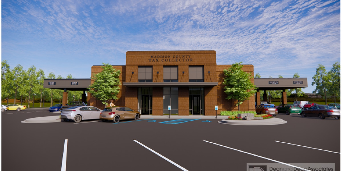 Architectural plans finished for new Madison Co. tax collector's office