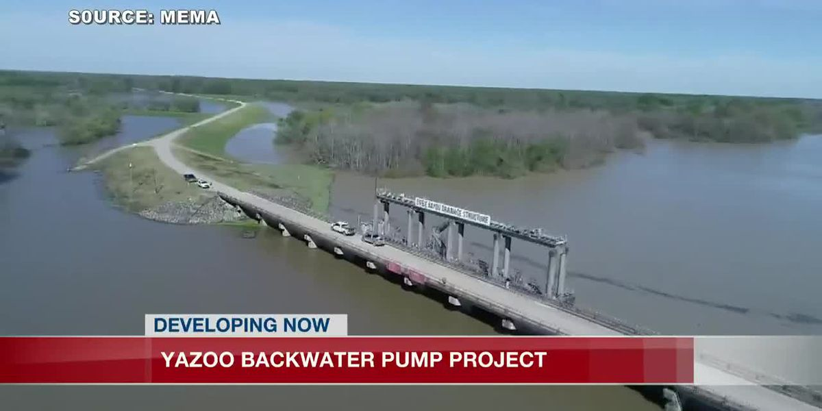 Public comment period comes to close for Yazoo Backwater Pumps project