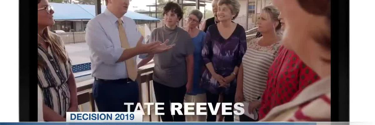 Jim Hood criticizes Tate Reeves' education ad