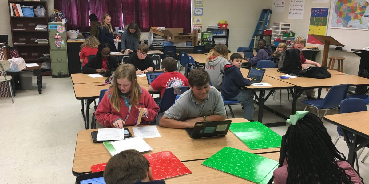 MS STRONG: Redwood Elementary students raise money for flood victims