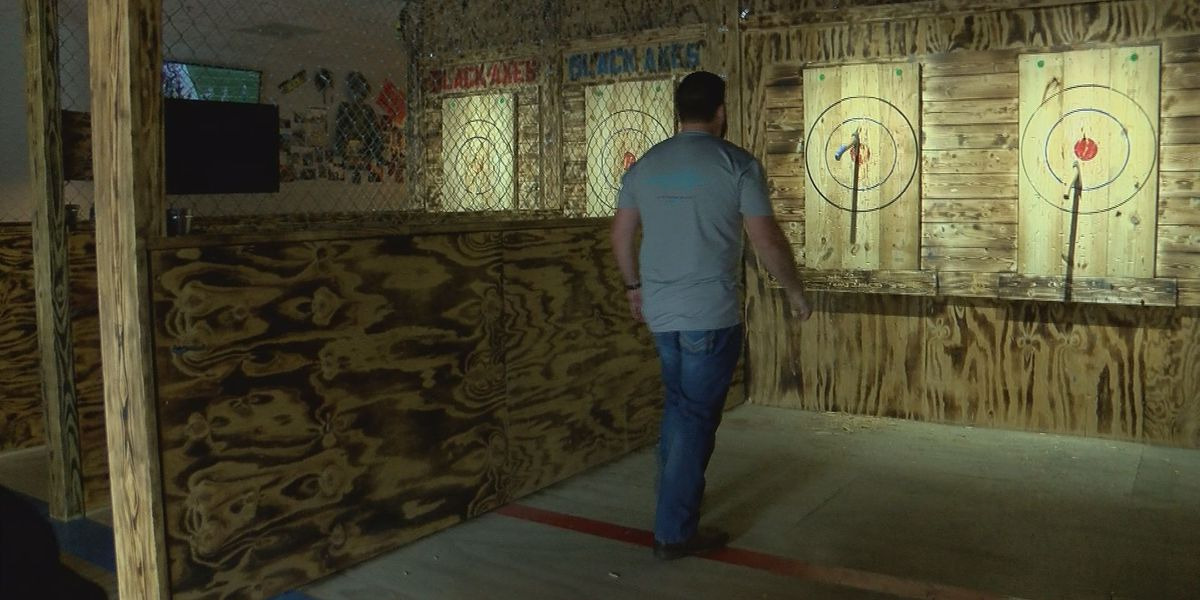 Axe throwing club uses grand opening to help injured Madison deputy
