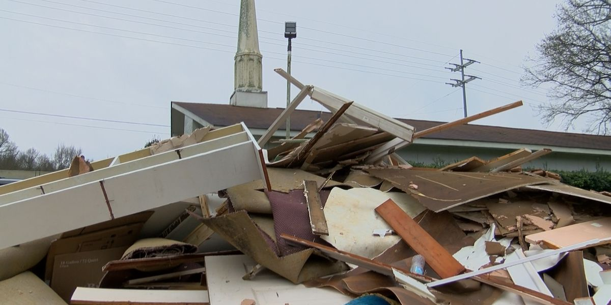 'Things get destroyed, but not our faith': Flowood church rebuilds after historic flood