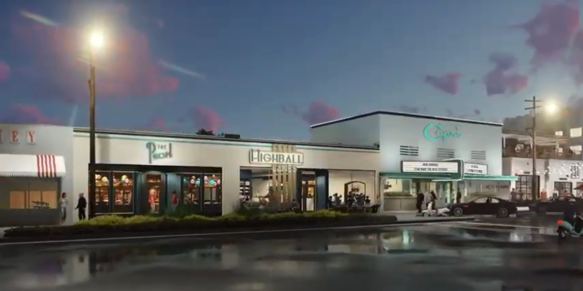 Construction on Fondren movie theater, bowling alley under way