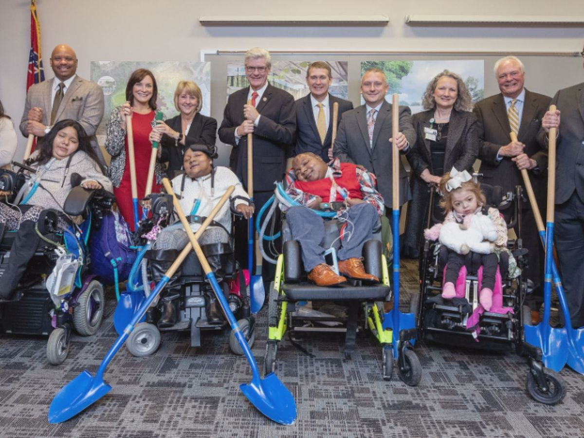 UMMC breaks ground on facility for children with medically complex conditions