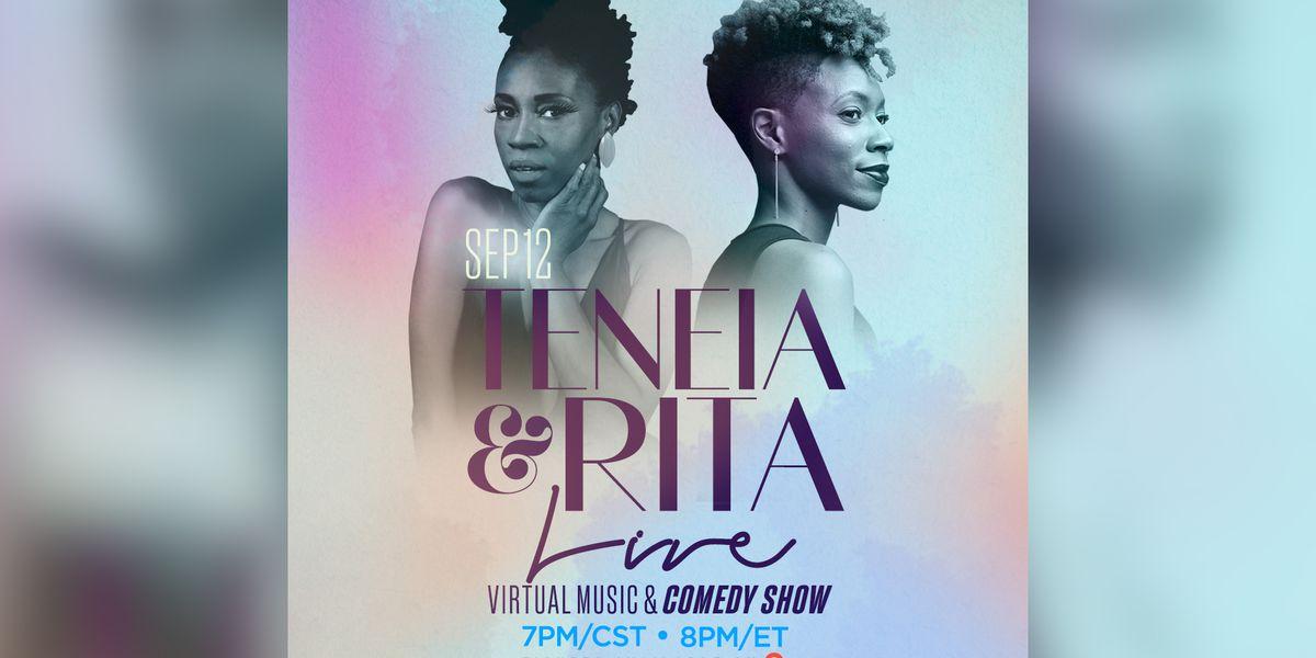 Comedienne Rita Brent, Singer Teneia to host live virtual show