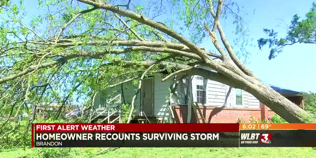 """By the Grace of God we are here today:"" Brandon homeowner recounts surviving storm"
