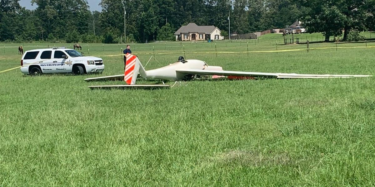 65-year-old pilot killed in Rankin County glider crash
