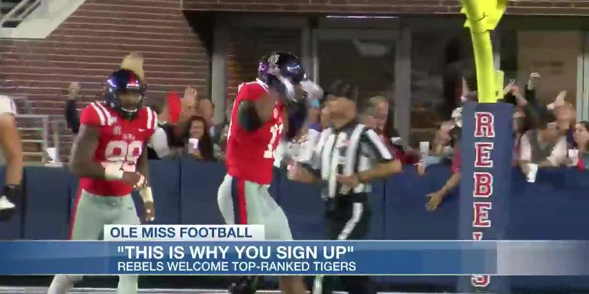 Ole Miss urging fans to bring intensity for Senior Night