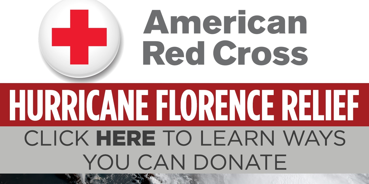 WLBT and American Red Cross to collect donations for those affected by Florence
