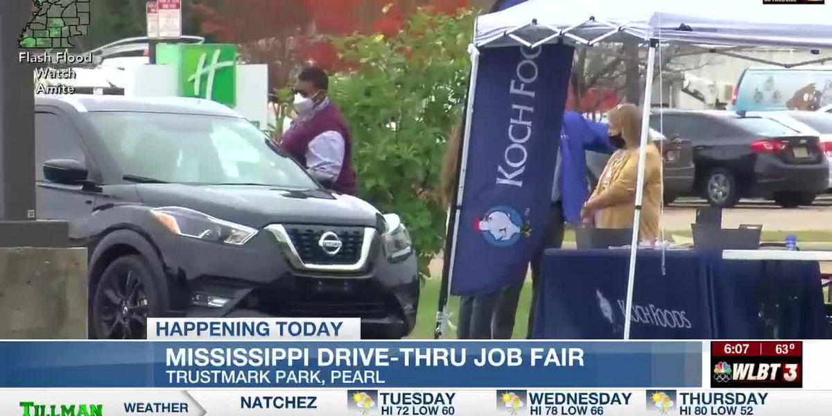 State to host drive-thru job fair in Pearl