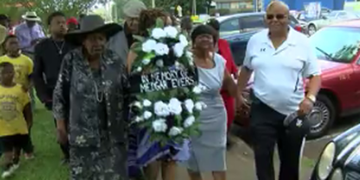 Evers and Henry birthdays remembered in wreath laying ceremonies