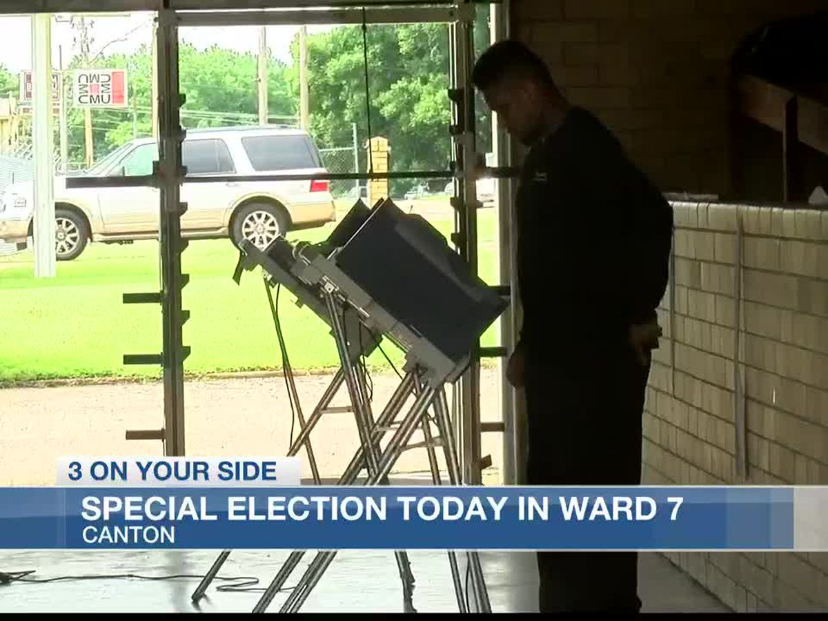 Special election taking place in Canton to replace former alderman