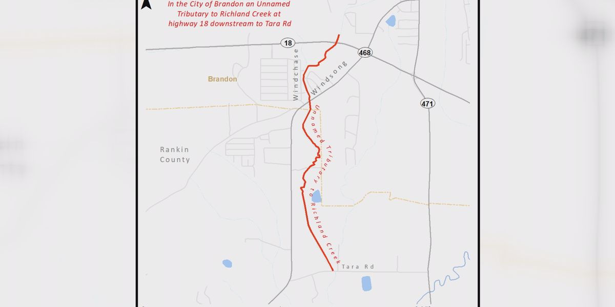MDEQ issues Water Contact Advisory in the City of Brandon