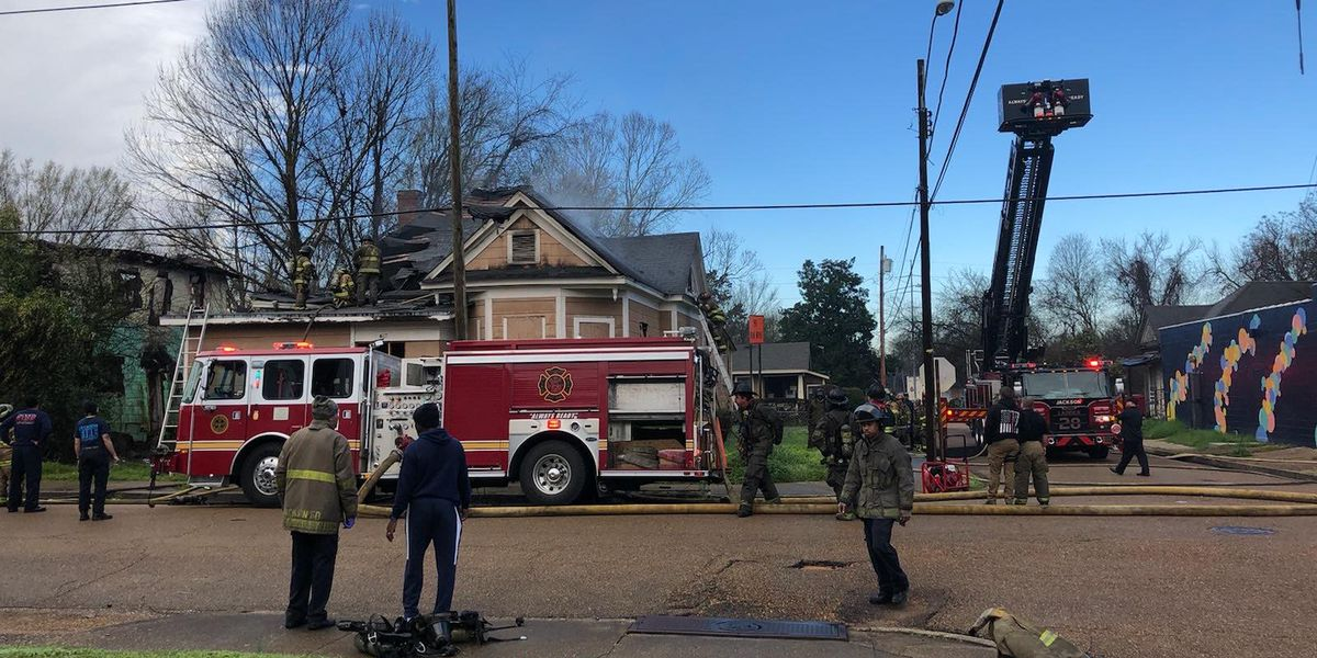 Two homes intentionally set on fire in Jackson