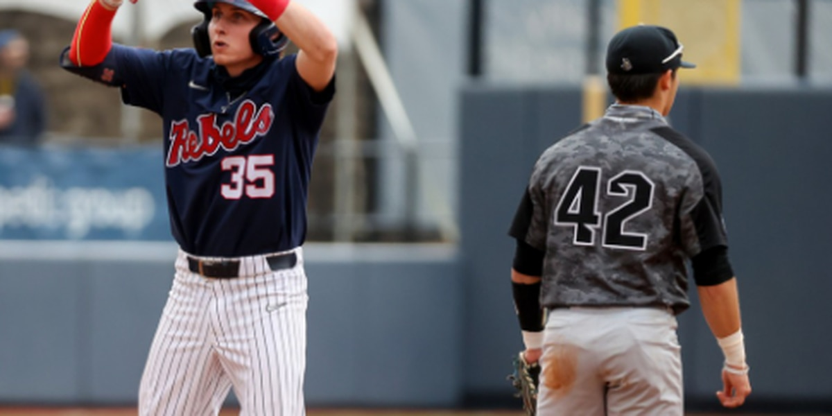 Ole Miss splits double-header with UCF