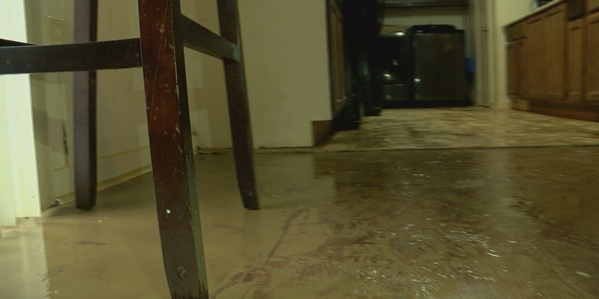 Homes in Presidential Hills damaged by flash flooding