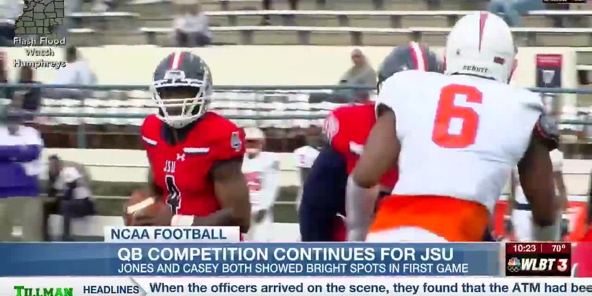 Quarterback competition continues for Jackson State