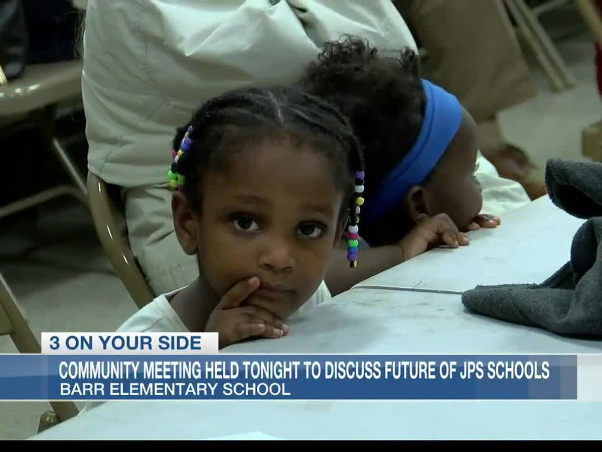 Parents of students affected by JPS school closings bring questions to community meeting