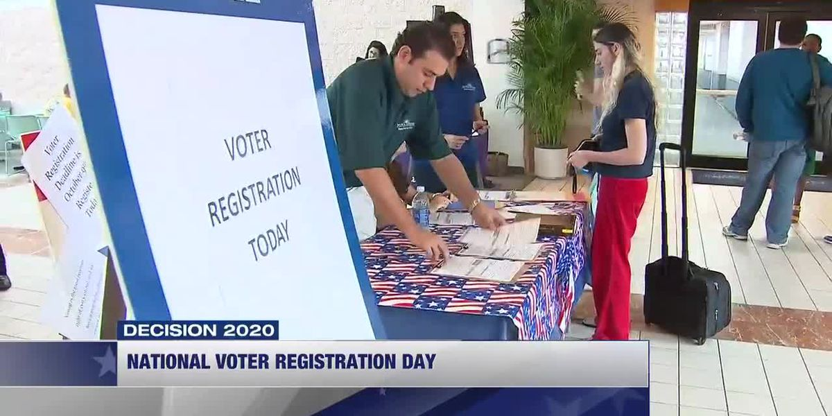 National Voter Registration Day: Where to sign up