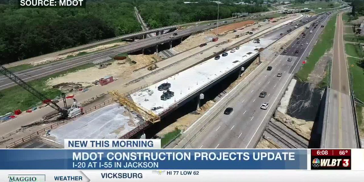 MDOT updates progress on Hwy 49, I-20 and other road projects