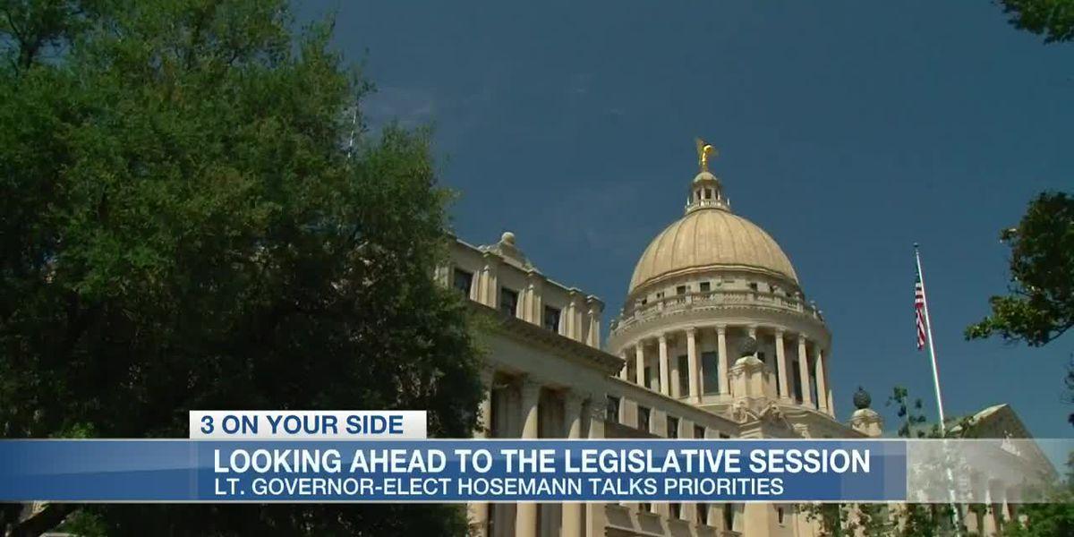 Lt. Governor-elect Delbert Hosemann discusses preparations for the 2020 legislative session