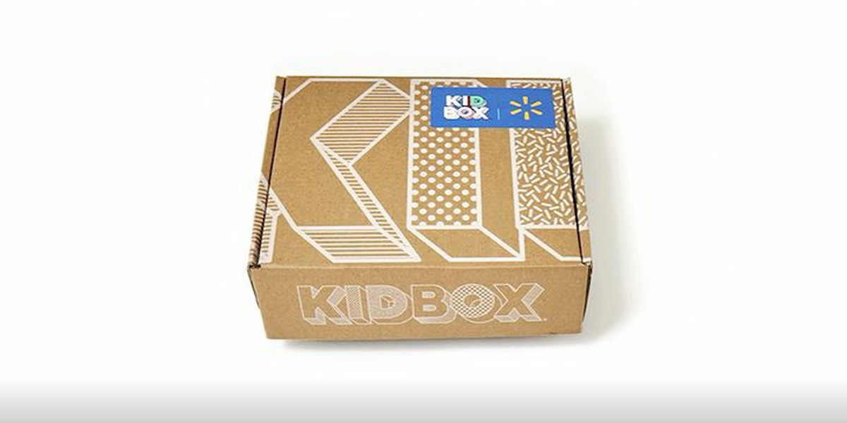 Walmart launches subscription delivery apparel box for kids' clothes