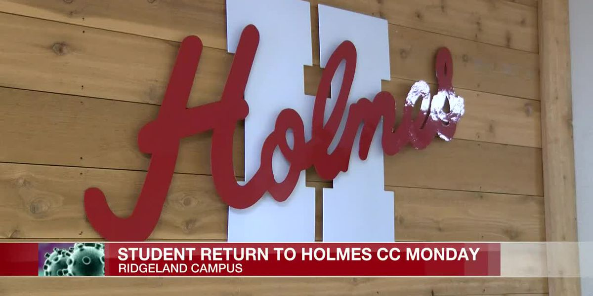 Holmes Community College prepares for face-to-face classes for the summer