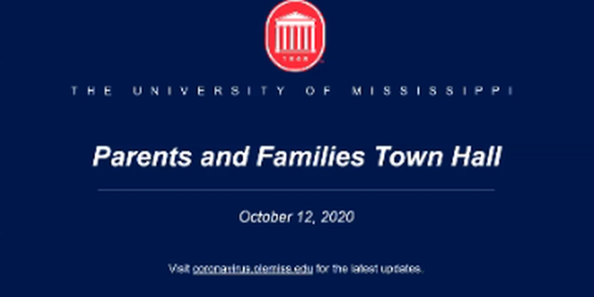 Ole Miss administrators hold virtual Parents and Families Town Hall