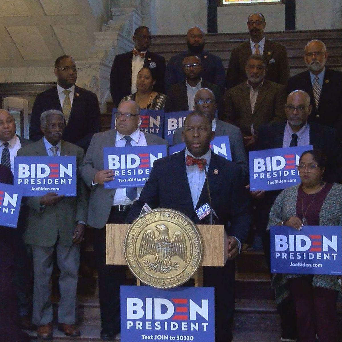 Mississippi Senate Democrats endorse Joe Biden for presidency