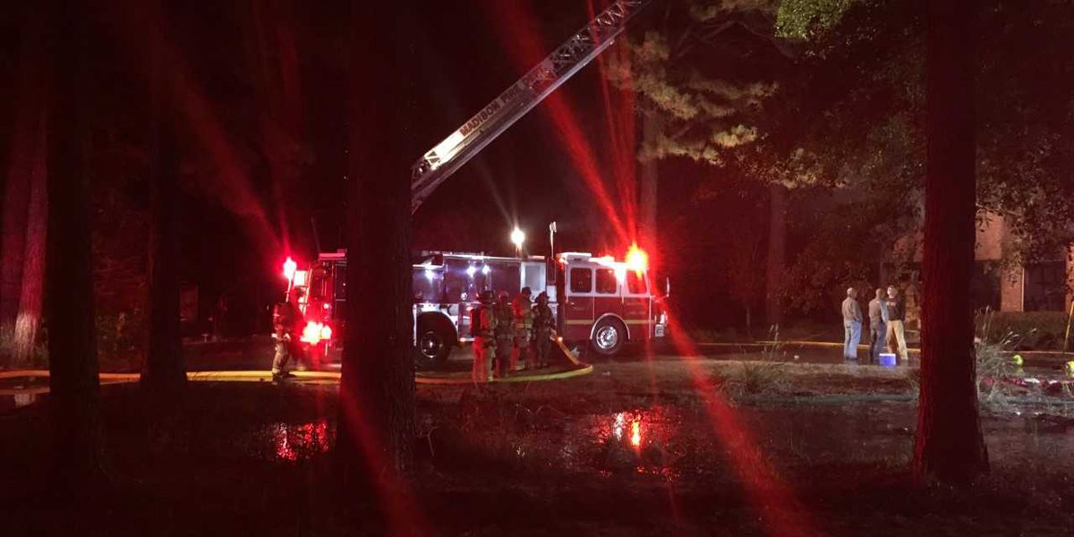 Home in Madison Co. destroyed by fire