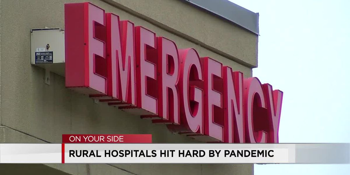 Rural hospitals being strained by COVID-19 patients