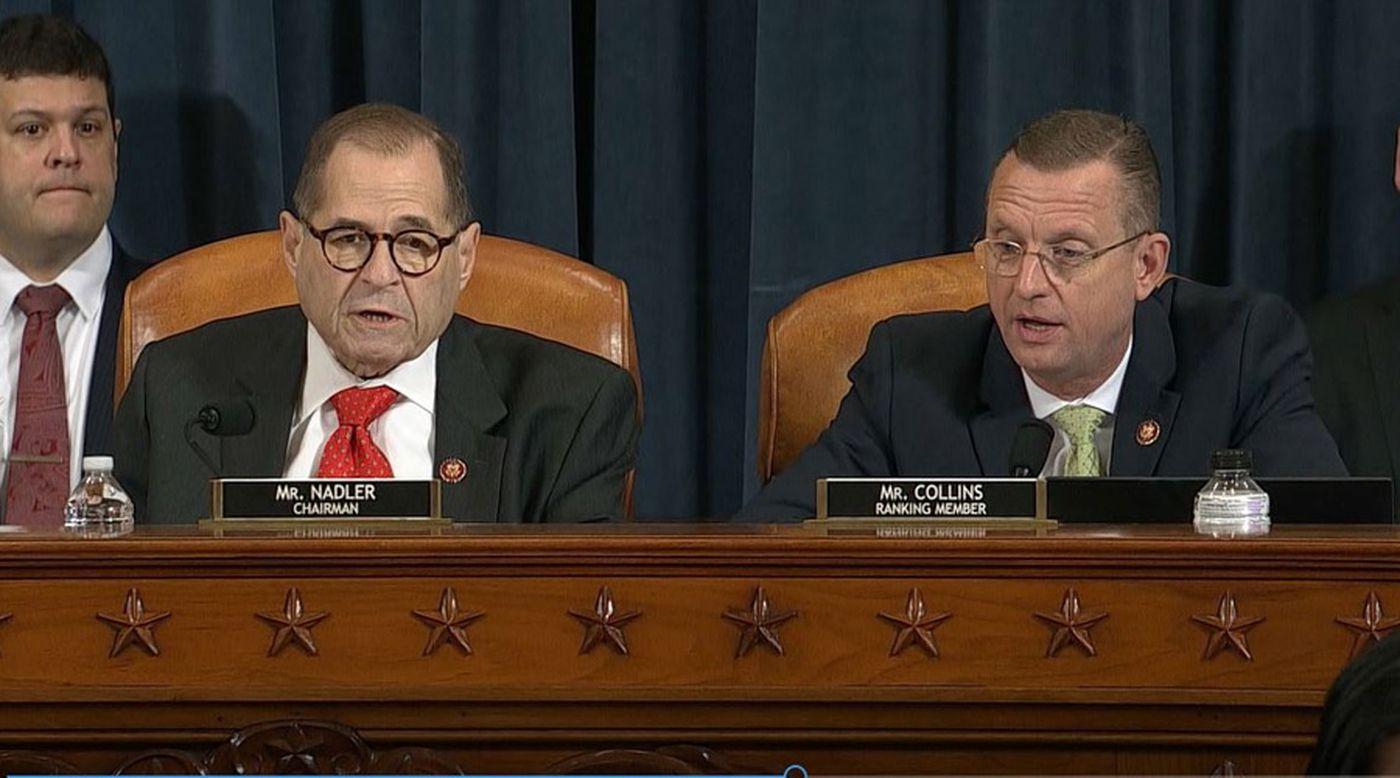 LIVE: House panel presses toward historic Trump impeachment vote