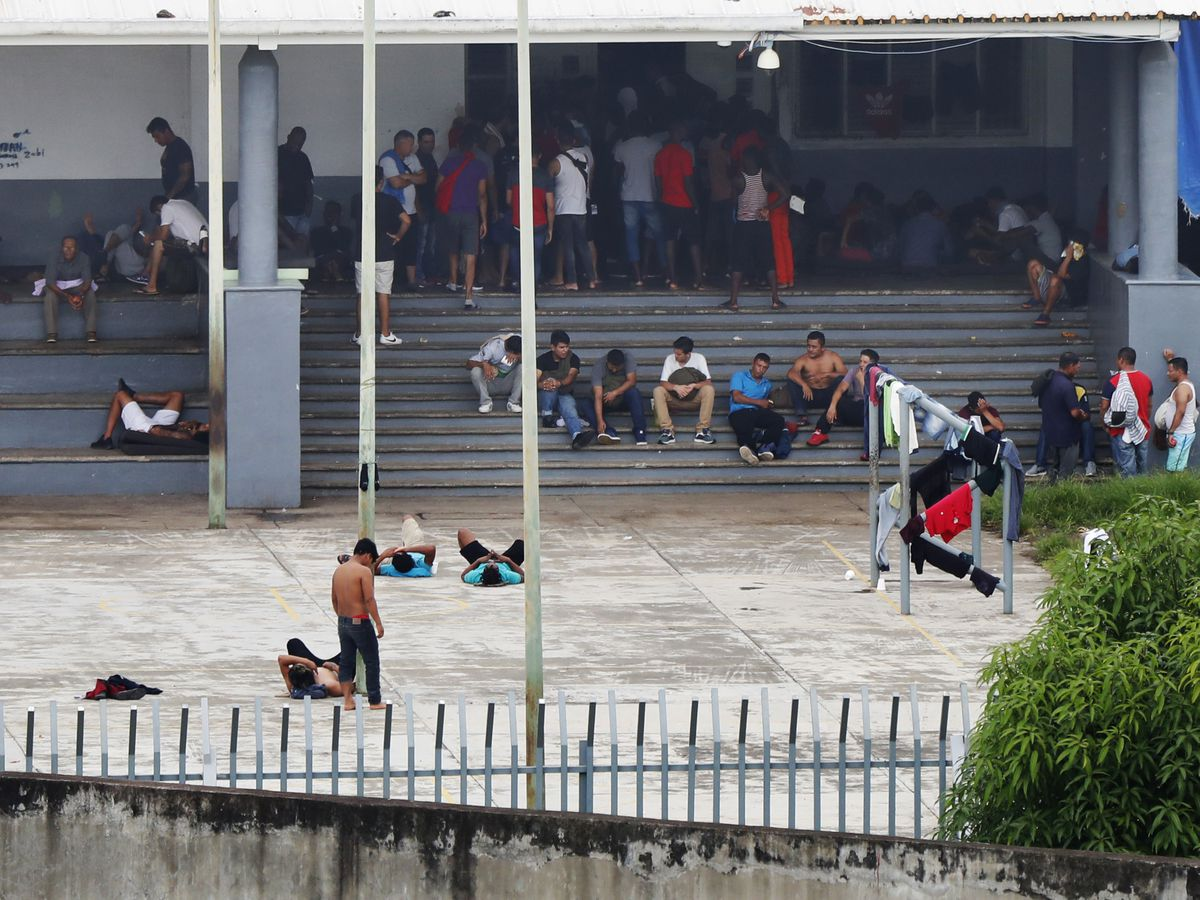Overcrowding, abuse seen at Mexico migrant detention center