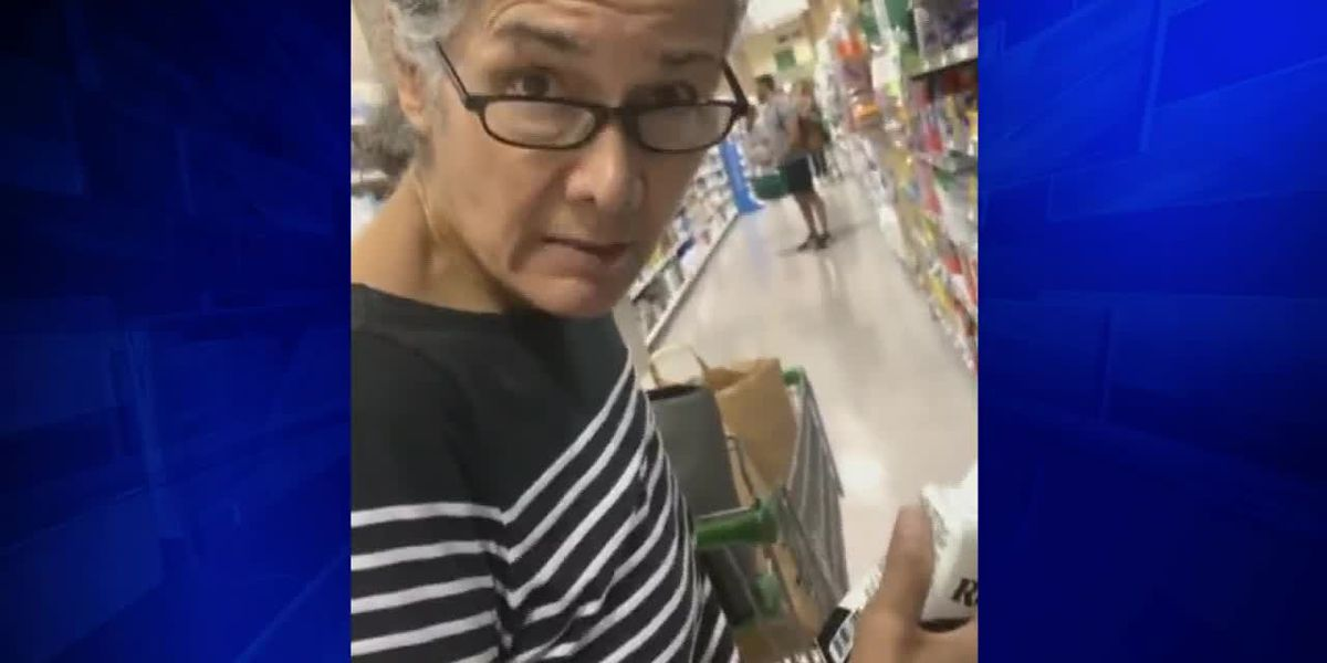 VIDEO: Florida woman uses racial slur in Publix