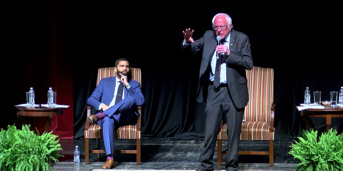 Mayor Lumumba endorses Bernie Sanders for president