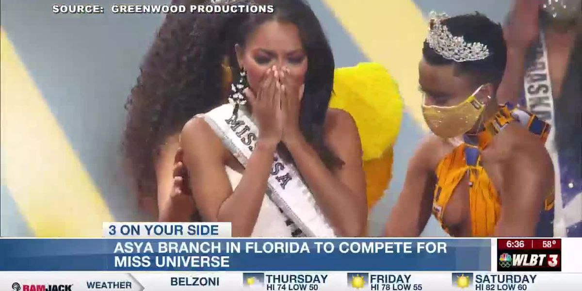 Mississippi's Asya Branch is about to compete in the Miss Universe pageant