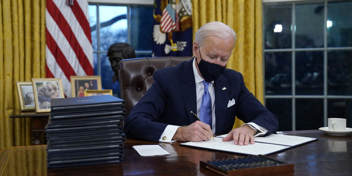 Here are the executive orders President Biden signed on day one