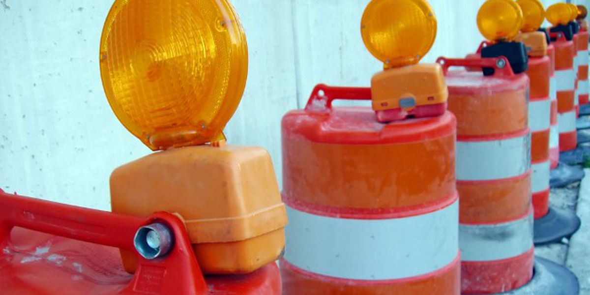 Two lanes of I-20 closing in Hinds Co. for road work