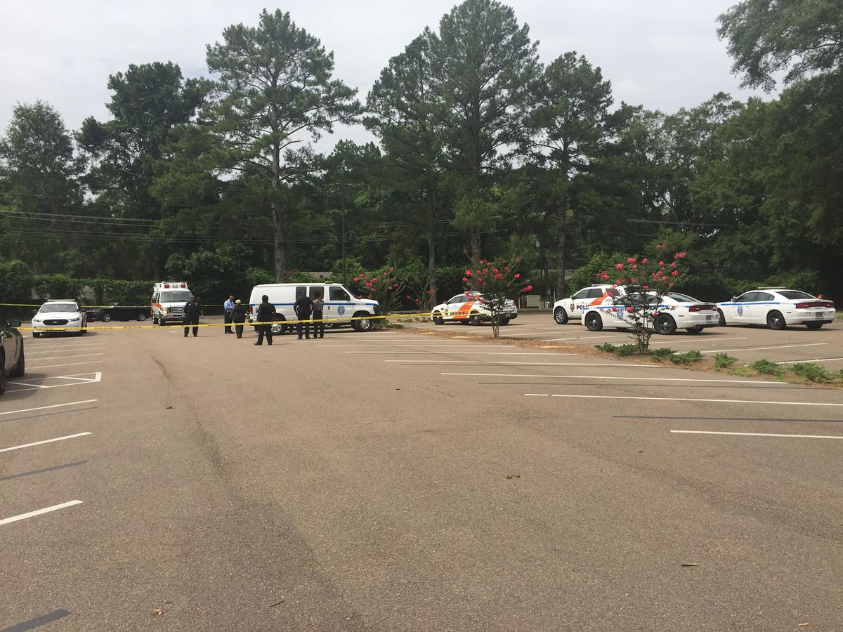 Woman's body found inside car in parking lot of Jackson church