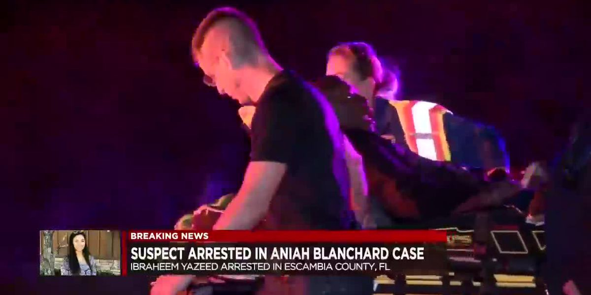Suspect arrested in Aniah Blanchard case
