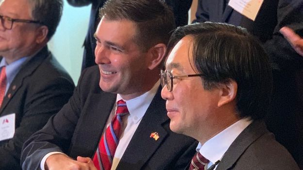 Mississippi establishes two-year trade deal with Taiwan